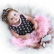 "18"" Reborn Baby Boy Dolls Real Life Vinyl Silicone Belly Baby Doll Birthday Gift"