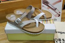 Sandales LES TROPEZIENNES modèle PRISKA gris/blanc 37 neuves