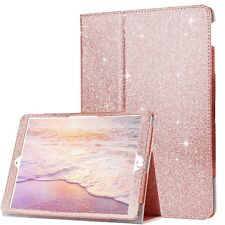 Genuine Apple iPad Rose Gold Glitter Gold silver pink purple Case cover IPad Air