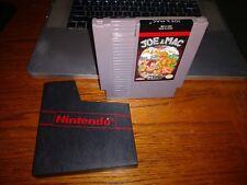 Nes Joe And Mac with original Nintendo dust cover sleeve