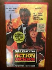 Action & Adventure Crime/Investigation R Rated VHS Movies