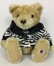 Hard Rock Hotel Herrington's Teddy Bear Orlando 2001 Limited Ed. Stuffed Plush