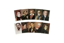 Classical Composers Portrait Art 36 sheets ZEN-ON MUSIC