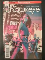 HAWKEYE #15 (2018 MARVEL Comics) VF/NM Book