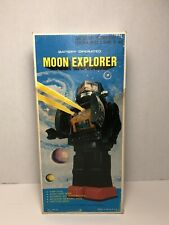 Vintage Moon Explorer Robot - Box Only - 1960s Hong Kong Toy Space