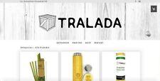 Onlineshop für nachhaltige Produkte (Plastikersatz, Bambus, Holz) tralada