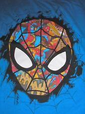 XL Spider-man Disney Store Blue Tee Shirt NWT Men's