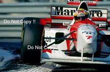 Mark Blundell McLaren MP4/10 Monaco Grand Prix 1995 Photograph