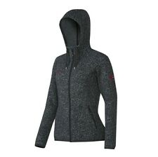 Mammut Jacke Damen Kira Tour ML Hooded Grau Funktions Fleecejacke S