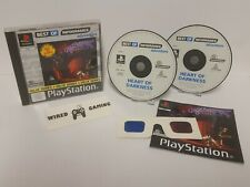 Heart Of Darkness - PS1 (Playstation 1) Complete (PAL) Black Label - 3D Glasses