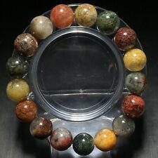 12mm Natural Color Phantom Quartz Stretch Crystal Beads Bracelet