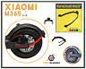 Xiaomi M365 Guardabarros Protección LED Scooter Accesorios Patineta Alta Calidad