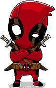 Deadpool Dude sticker decal