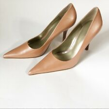 Nine West Patent Leather Stiletto Rose Gold