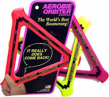 Aerobie Orbiter Bumerang Ring Frisbee Fliegend Scheibe Wirf Spielzeug Orange /