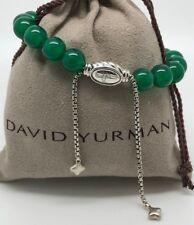 DAVID YURMAN Spiritual Beads Bracelet Green Onyx in Sterling Silver