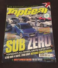 TopGear 268 April 2015 Subzero All Wheel Drive Supertest FREE PRIORITY SHIPPING