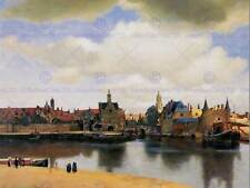 VERMEER VIEW OF DELFT OLD MASTER ART PAINTING PRINT 12x16 inch POSTER ART 1603OM