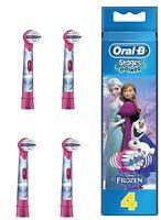 Oral-B puissance Enfants Étapes Princesse Frozen Pièce de Rechange Dents Pack 4