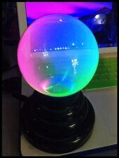 NUOVA LAMPADA PLASMA BALL RAINBOW LIGHT ARCOBALENO VEDI FOTO 10CM USB 5V. NEW
