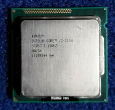 Intel Core i3-2100 SR05C | Dual Core 3.10GHz LGA1155 CPU Processor 3MB Cache