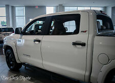 NEW TOYOTA TUNDRA 2014-2016 POCKET FENDER FLARES SUPER WHITE PAINT CODE 040
