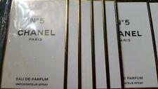 CHANEL NO.5 eau de parfum edp  , 6 x1.5ml