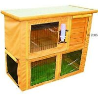 Rabbit Hutch Cover Large Outback Classic Hutch and Run Protection Against Wind