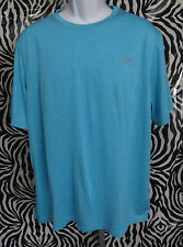 Champion Duo Dry Mens Size XL Short Sleeve Teal Shirt Top VGC