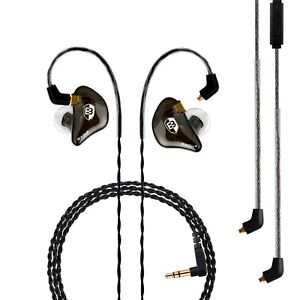 BASN Professional in-Ear Monitor Headphones for Singers Drummers Musician... New
