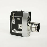 VINTAGE Bell & Howell Director Series Zoomatic 8mm Video Camera w/ Original Case
