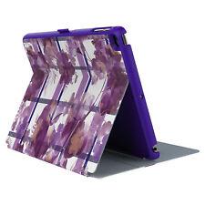 Speck Stylefolio iPad Air 2 Porcelain Floral Plaid Orchid Case