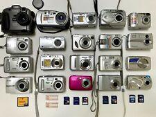 Huge Digital Camera Lot! 20 cameras + 10 memory cards