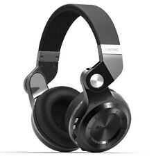 Bluedio Bluetooth4.1 Stereo Headsets T2 Plus Wireless Headphone Mic,SD ,FM Black