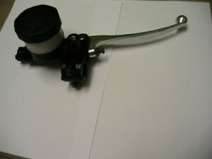 """NEW BREMBO STYLE FRONT BRAKE MASTER CYLINDER 5/8"""" TWIN DISC"""