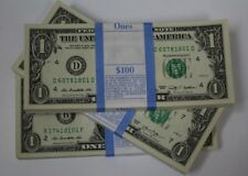 2009 2013 Sequential Collectible Pack 100 New Uncirculated $ 1 One Dollar Bills