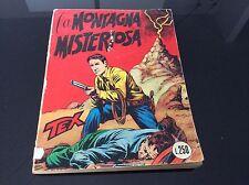 TEX COLLANA GIGANTE Nr°15 - LA MONTAGNA MISTERIOSA - lire 250 Maggio 1965