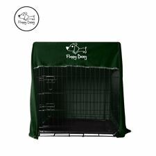Floppy Dawg Innovative Dog Crate Cover for Kennels and Wire Crates in Green