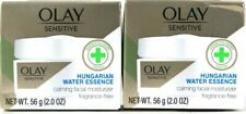 2 Count Olay Sensitive 2 Oz Hungarian Water Essence Calming Facial Moisturizer