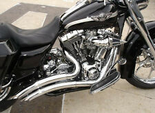 BIG RADIUS  EXHAUST FLH ALL BAGGERS 2009-2016 FLHT TOURING, BRAND NEW
