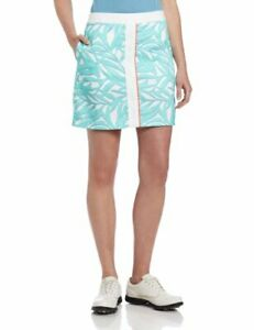 Greg Norman Collection women's West Palm Print Skort size 12 retail $75