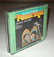 2 Cd Richard STRAUSS FEUERSNOT Op 50 Heinz Fricke Julia Varady 1986