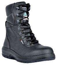 """New Men's Cofra US Road 8"""" asphalt safety boots black  12 W"""