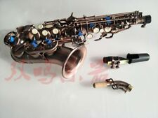 Excellent Bb key Curved soprano Saxophone  Good sound