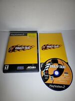 Crazy Taxi - Complete PlayStation 2 PS2 Game cib free shipping! A6