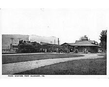 ST801: Penn Station, Port Allegany, Pa, Early Postcard, Ca 1910