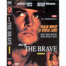 The Brave,1997 (DVD,All,New) Johnny Depp