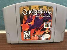 Nintendo 64 N64 Ogre Battle 64 Tested Works Clean