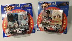 Winners Circle Double Platinum NASCAR Earnhardt Sr and Harvick Lot of 2 car 1/43