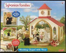 Sylvanian Families Wedding Chapel with Vicar Rev. kelvin Waters New